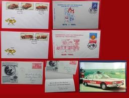 Fire/Fireman/Vigili Del Fuoco/Bomberos/Feuerwehr - Foglietti/Francobolli/Cover/FDC- - Francobolli