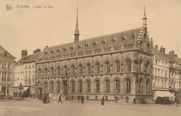CPA - Belgique - Kortrijk -  Courtrai - L'Hôtel De Ville - Kortrijk