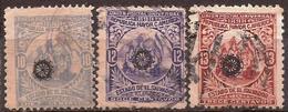 """El Salvador - Fx. 3272 - Yv. 180/2 - Sobrecarga """"rueda"""" - Usado - El Salvador"""