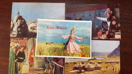 """KAZAKHSTAN. """"KYZ JIBEK"""" Kazakh Poetic Folk Legend 11 PCs Lot  1970s - Kazakhstan"""