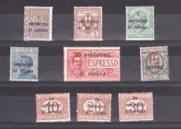 Italie - Trente Et Trieste - 1919 - Lot De Timbres Neufs * - Occupation 1ère Guerre Mondiale