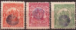 """El Salvador - Fx. 3274 - Yv. 254/A/5 - Sobrecarga Violeta """"sol"""" (tipo II) No Emitidos - (*) - El Salvador"""