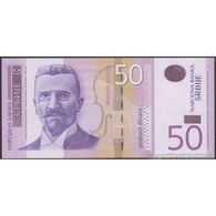 TWN - SERBIA 56a - 50 Dinara 2011 Low Serial 000XXXX - Prefix AA UNC - Serbia