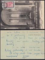 """Madagasgar 1926- CP Voyagée  """" Diégo-Suarez - La Cathédrale. L'intérieur Maison E. Chatard """"(6G) DC1037 - Madagascar"""