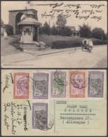 "Madagasgar 1927- CP Voyagée  ""Tananarive - Le Tombeau Du Premier Ministre ""(6G) DC1044 - Madagascar"