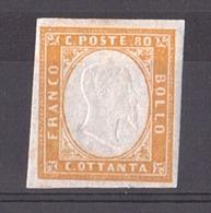 Sardaigne - 1855/61 - N° 14 - Neuf * - Victor-Emmanuel II - Sardinia
