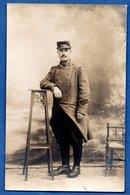 Carte Photo -- Soldat Français --  Du 120 RI - War 1914-18