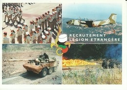 """1932 """" RECRUTEMENT LEGION ETRANGERE"""" CARTONCINO PUBBLICITARIO ORIGINALE - Militari"""