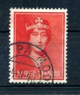 1939 NORVEGIA N.197 USATO - Norvegia
