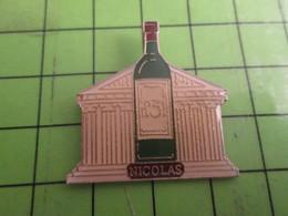 1118A Pin's Pins /  Belle Qualité Et Rare / THEME BOISSON : VIN NICOLAS N°31 TEMPLE GREC OU ROMAIN - Beverages