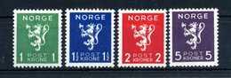 1940 NORVEGIA SET * - Norvegia