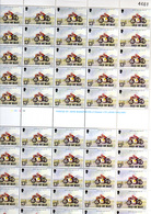 1977  ISLE Of Man, Elisabeth II,  190 Séries X  85 / 87** Feuille Et Blocs, Faciale 72,20 £ Sous Moitié Faciale - Man (Ile De)