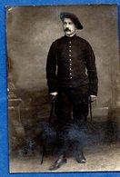 Carte Photo -- Soldat Français --  Nice - Weltkrieg 1914-18