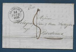 Jura - Cachet Type 13  De  CLAIRVAUX. - 1801-1848: Précurseurs XIX