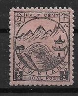 1894 CHINA KEWKIANG TREATY PORTS -- 1/2c UNUSED CHAN LK11 - Chine