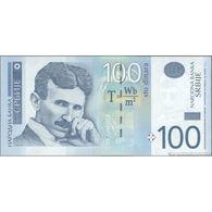TWN - SERBIA 57a - 100 Dinara 2012 Prefix AA UNC - Serbia