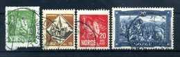 1930 NORVEGIA SET USATO - Norvegia