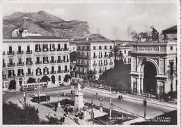 PALERMO PIAZZA RUGGERO SETTIMO INGRESSO POLITEAMA  VG  AUTENTICA 100% - Palermo