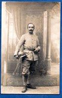 Carte Photo -- Soldat Français -- - Guerre 1914-18