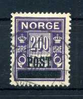 1929 NORVEGIA N.140 USATO - Norvegia