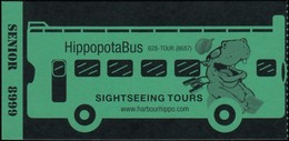 HippopotaBus (*) (MS118) - Tickets - Vouchers