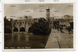 Syria Hama Pont Sur L'Oronte 1098 Postcard 1930s  By Photo Sport Beyrouth - Syria