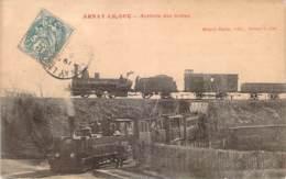 21 - Arnay-le-Duc - Arrivée Des Trains (locomotives) - Arnay Le Duc