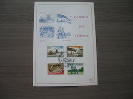 "BELG.1970 1532 1533 1534 & 1535 FDC PhilaCard ( Virton ) :  "" Culturelles Musées / Culturele Uitgifte - Musea"" - 1961-70"
