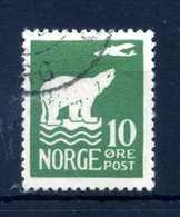 1925 NORVEGIA N.104 USATO - Norvegia