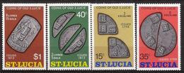Santa Lucia - Fx. 3283 - Yv. 354/7 - Monedaas Antiguas - ** - St.Lucia (1979-...)