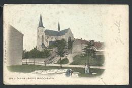 +++ CPA - LEUVEN - LOUVAIN - Eglise Saint Quentin - Couleur    // - Leuven