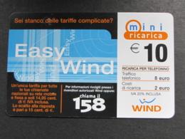 ITALIA RICARICA WIND - MINI RICARICA EASY WIND 30-06-2006 - Schede GSM, Prepagate & Ricariche
