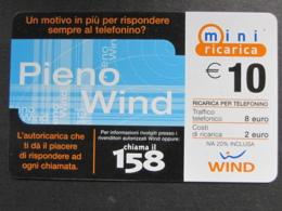 ITALIA RICARICA WIND - MINI RICARICA PIENO WIND 31/12/2006 - Italia