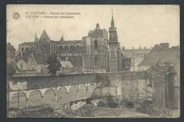+++ CPA - LEUVEN - LOUVAIN - Guerre - Ruines De L'Académie    // - Leuven