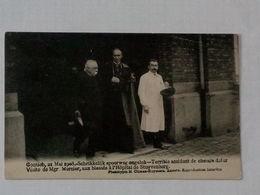 Carte Postale Contich - Kontich - 21 Mei 1908 - Schrikkelijk Spoorweg Ongeluk - Accident Chemin De Fer ... Lot6 . - Kontich