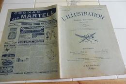 L'ILLUSTRATION 24 JUILLET 1909- PERSE/ DON CARLOS/ TRAVERSEE DE LA MANCHE EN AEROPLANE DDOUAI ARRAS - L'Illustration