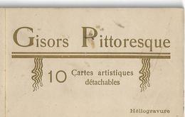 GISORS Pittoresque (Eure) - Carnet De 10 Cartes Postales Artitisques - Quelques Scans - A Voir ! - Lieux