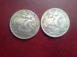 10 Esc. 1954, 1955  Silver - Portugal