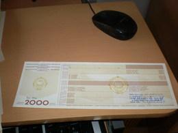 Socialisticka Federativna Republika Jugoslavija 2000 Dinara - Jugoslavia