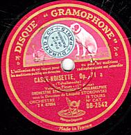 78 Trs 30 Cm état TB CASSE-NOISETTE Op.71a (Tchaïkowsky) Valse Des Fleurs 1re Et 2e Parties ORCH. SYMPH. DE PHILADELPHIE - 78 T - Disques Pour Gramophone