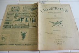 L'ILLUSTRATION 31 JUILLET 1909- TRAVERSEE  MANCHE PAR BLERIOT - TRAMWAY DU MONT-BLANC-LATHAM -COMBATS  MAROC -AEROPLANES - L'Illustration