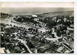 76 SAINT-VALERY-en-CAUX ++ Vue Générale - La Gare Et Le Port ++ - Saint Valery En Caux