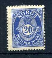 1909-20 NORVEGIA N.77 * - Norvegia