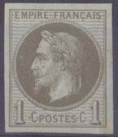 Colonies Générales Postes N° 7 1c Bronze Napoléon Qualité: * Cote: 90 € - Napoleon III