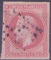 Colonies Générales Postes N° 10 80c Rose Napoléon III TB Qualité: Obl Cote: 130 € - Napoleon III