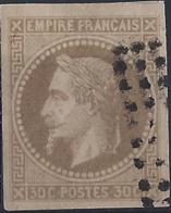 Colonies Générales Postes N° 9 30c Napoléon III Brun TB Qualité: Obl Cote: 70 € - Napoleon III