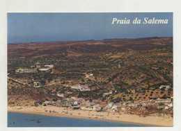 PRAIA DA SALEMA, Budens, Vila Do Bispo  - Vista Aérea  (2 Scans) - Faro