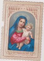 Image Religieuse Canivet Salut O Marie   F Godeau Editeur Paris - Images Religieuses