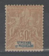 ST PIERRE Et MIQUELON:  N°67 *    - Cote 17€ - - St.Pierre Et Miquelon