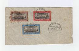 Sur Enveloppe Trois Timbre Egypte Congrés International De Navigation. Cachet Du Congrés Le Caire 1926. (932) - Egypt